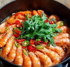 새우 콩나물찜 일품요리, 손님 초대요리로 손색없는 새우요리입니다