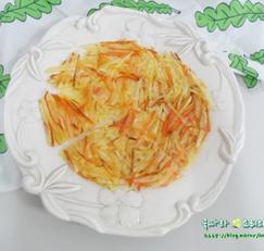 극강 바삭한 감자채전