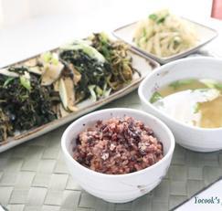 오곡밥 만드는법 찰진밥맛에 구수한 보름나물