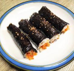 초간단 참치쌈장김밥/참치주먹밥 : 참치의 맛깔난 변신~