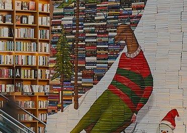 별마당 도서관 아트 프로젝트 - MIKE STILKEY의 WONDERLAND