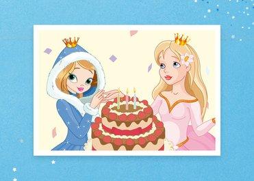 어린이 뮤지컬 겨울 공주들의 생일파티