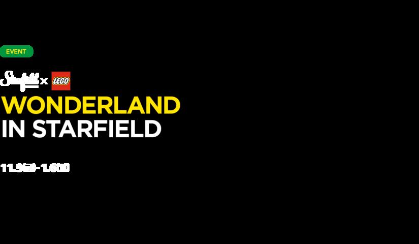 [스타필드 고양X레고] WONERLAND IN STARFIELD