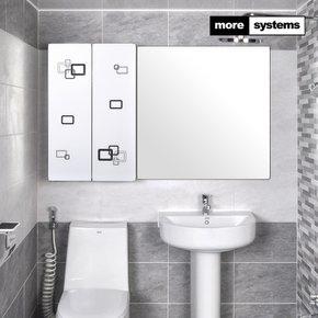 퍼즐 800 PS 욕실장 [유리선반]/욕실수납장/욕실선반