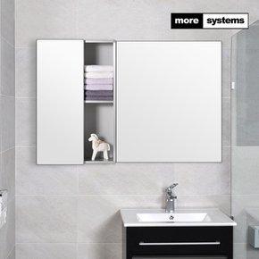 [모아시스템즈] 국산 고급 밀러 원도어 L 알루미늄 욕실장/욕실수납장/욕실선반