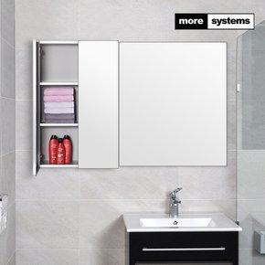 [모아시스템즈] 국산 고급 밀러 500x800 알루미늄 욕실장/욕실수납장/욕실선반