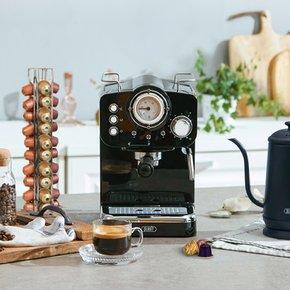 [사은품3종]플랜잇 홈카페프레소 에스프레소 커피머신 / 커피메이커 / 반자동 / 가정용 / 업소용 / PCM-F15