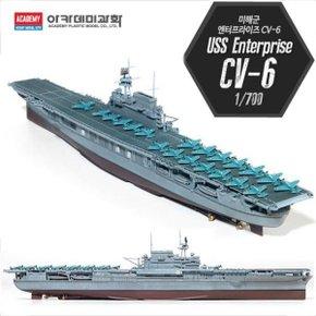 아카데미과학-1/700 미해군엔터프라이즈CV-6 14224/배/프라모델