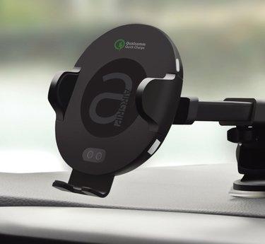 [우르르]에어그립 자동 차량용 무선충전 거치대 Q4