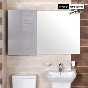 헤어라인 실버 700 PS 욕실장 [PS선반]/욕실수납장 욕실선반
