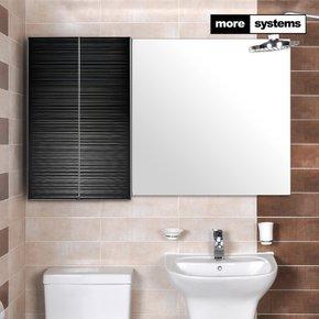 스마트 블랙 700 PS 욕실장 [PS선반]/욕실수납장 욕실선반
