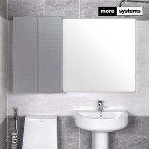헤어라인 실버 800 PS 욕실장 [유리선반]/욕실수납장 욕실선반