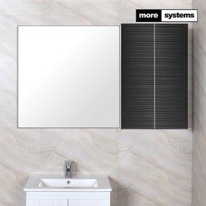 스마트 블랙 800 PS 욕실장 [PS선반]/욕실수납장 욕실선반