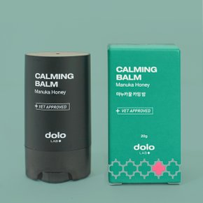 [DOLOLAB] 마누카꿀 강아지 발밤 코밤 스틱형 20g