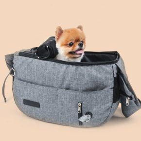 [DOLO LIFE] 강아지 이동가방 마약 슬링백