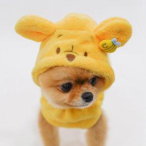 [DOLO LIFE] 디즈니 곰돌이 푸우 기능성 극세사 샤워가운