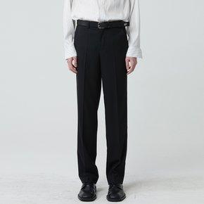 WOMEN STRAIGHT LONG PANTS BLACK