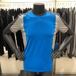 [MPG]엠피지 남성투톤배색 기능성티셔츠(MMHSMTSS01)SG
