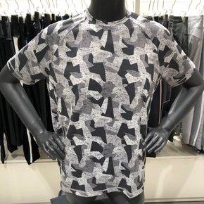 [MPG]엠피지 남성라운드넥 프린트셔츠(MMJSMTSS62)SG